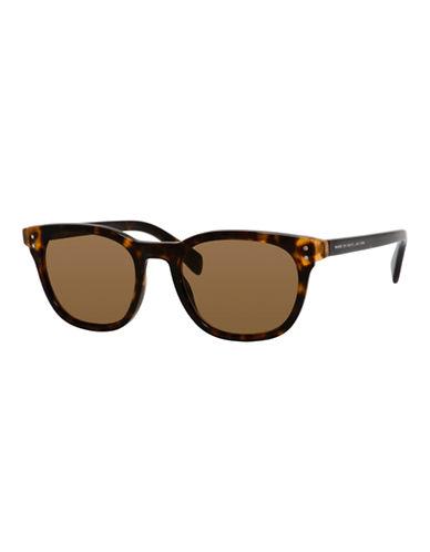 Marc Jacobs 50mm Square Cat-Eye Sunglasses-HAVANA-One Size