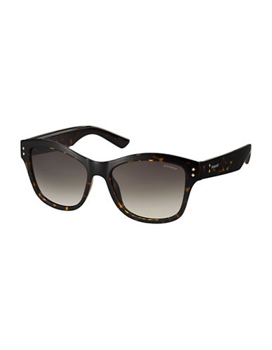 Polaroid PLD4034S 54mm Rectangular Sunglasses-BROWN-One Size