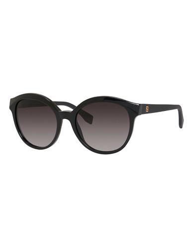 Fendi Round 0045 / S Sunglasses-MATTE BLACK-One Size