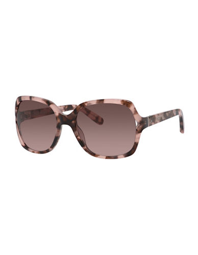 Bobbi Brown 56mm Harper Square Sunglasses-HAVANA ROSE-One Size