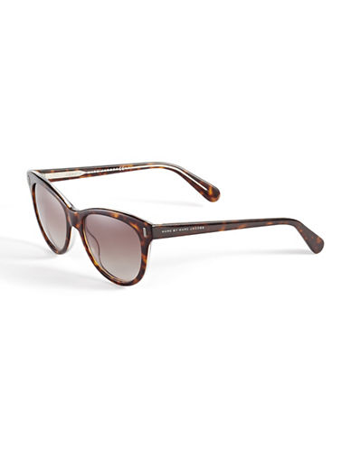 Marc Jacobs 434S 53mm Round Sunglasses-HAVANA CRYSTAL-One Size