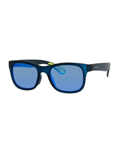 Polaroid 51mm Polarized Classic Wayfarer Sunglasses-BLUE-One Size