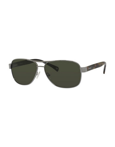 Polaroid Polarized Navigator Sunglasses-GREEN-One Size