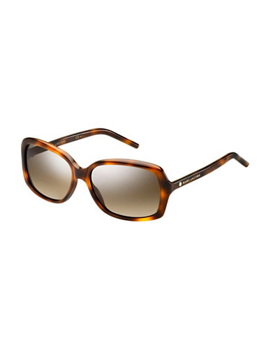 Marc Jacobs Monochrome 57mm Square Sunglasses-BROWN-One Size