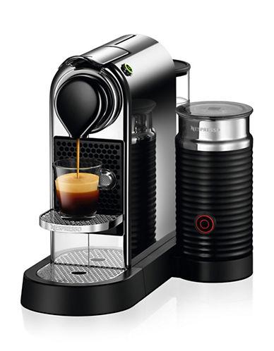 Nespresso CitiZ&milk Coffee Machine by De'Longhi, Chrome-CHROME-One Size 88630349_CHROME_One Size