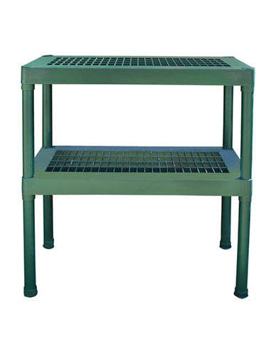 Palram Rion Two-Tier Staging Bench-GREEN-One Size