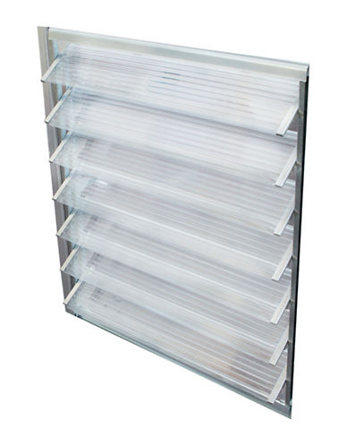 Palram Side Louver Window Kit-CLEAR-One Size