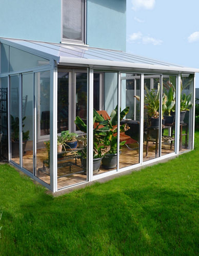 Palram San Remo Patio Enclosure 10 ft x 14 ft-WHITE-One Size