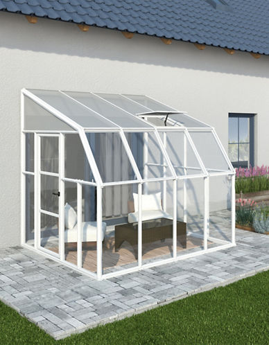 Rion Sun Room 8ft x 8ft-WHITE-One Size