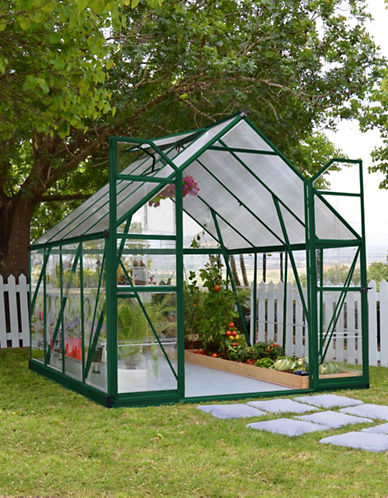 Palram Balance Hybrid 8 Ft. x 8 Ft. Greenhouse-GREEN-One Size