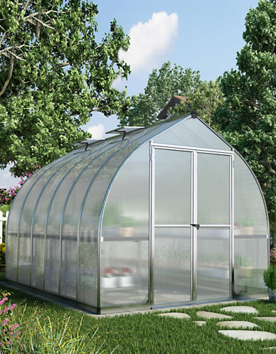 Palram Bella Greenhouse 8ft x 12ft-GREY-One Size