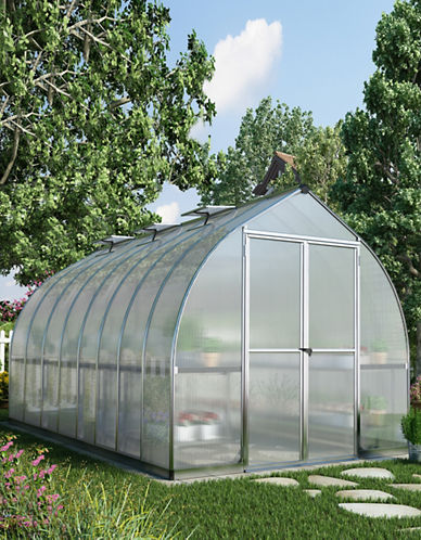 Palram Bella Greenhouse 8 ft x 16 ft-GREY-One Size