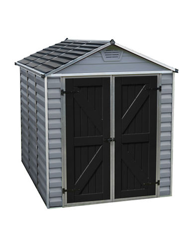 Palram 6 Ft. x 8 Ft. Skylight Shed-GREY-One Size