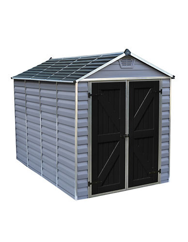Palram 6 Ft. x 10 Ft. Skylight Shed-GREY-One Size