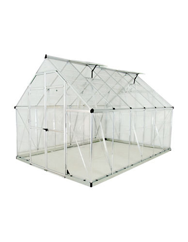 Palram Octave Greenhouse-GREY-One Size