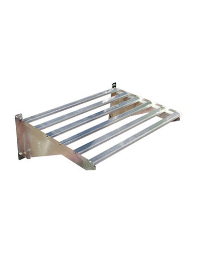 Palram Heavy Duty Metal Shelf Kit-GREY-One Size