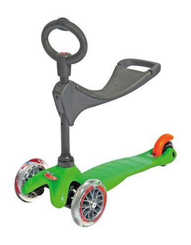 Micro Scooters Mini Micro Three-in-One Kickboard Scooter-GREEN-One Size