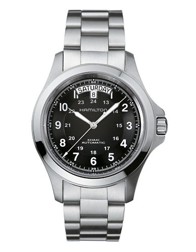 Hamilton Khaki King II Watch-SILVER-One Size