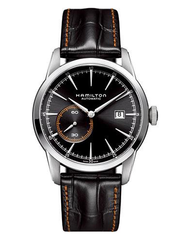 Hamilton Mens Jazzmaster Timeless Classic  H40515731-BLACK-One Size