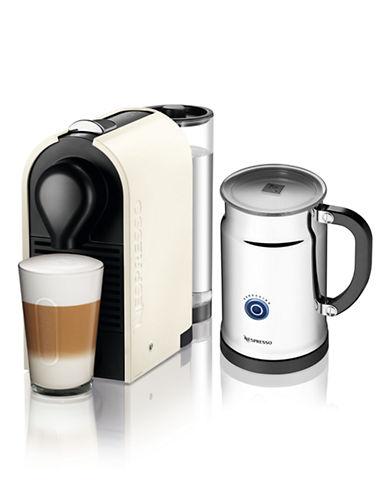 Nespresso U C50 Pure Cream Bundle with Aeroccino frother-WHITE-One Size 86125565_WHITE_One Size