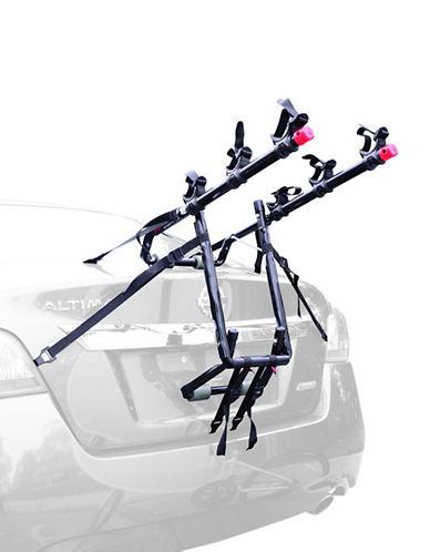 Allen Sports Deluxe Three Bike Trunk Mount Rack-BLACK-One Size