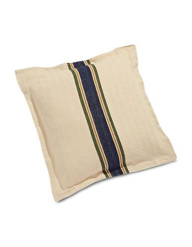 Tommy Hilfiger Herringbone Stripe Euro Pillow Sham-BEIGE-One Size