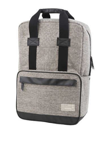 Hex Dual-Handle Convertible Backpack-GREY-One Size