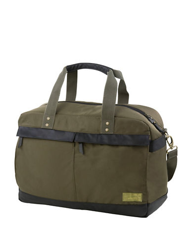 Hex Agency Overnight Duffel Bag-GREEN-One Size