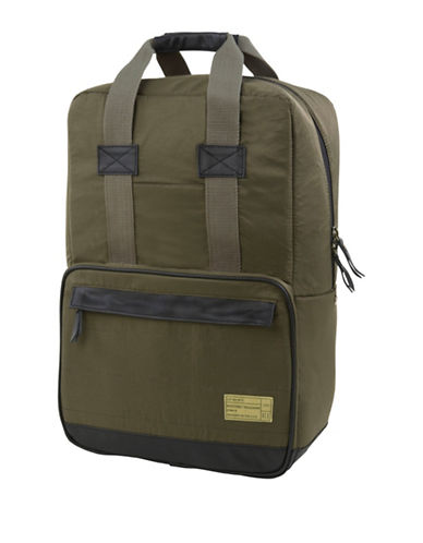 Hex Dual-Handle Convertible Backpack-GREEN-One Size