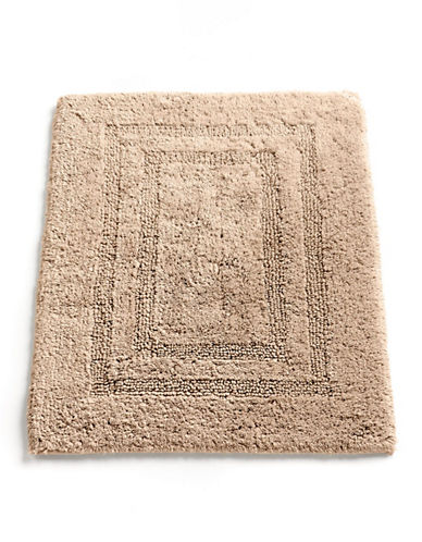 Hotel Collection Reversible Bath Rug-BEIGE-One Size