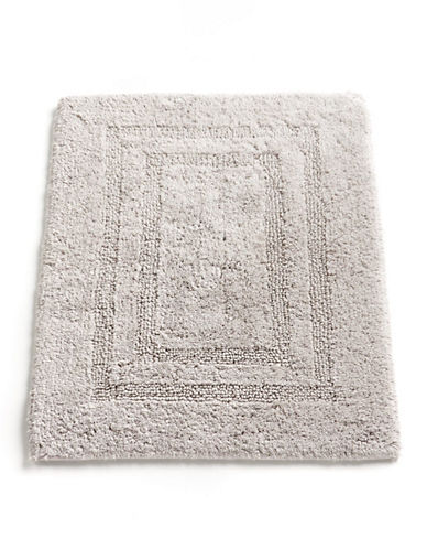 Hotel Collection Reversible Bathmat 18x25-GREY-18x25