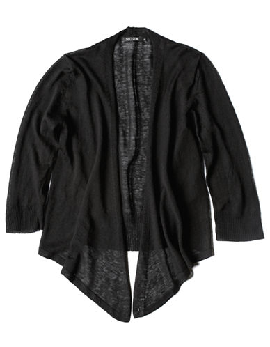 Nic+Zoe Four Way Cardy-BLACK-Medium
