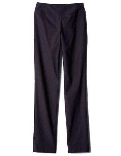 Nic+Zoe Plus Wonder Stretch Pants-BLACK-22W