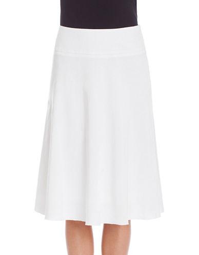 Nic+Zoe PETITE Summer Fling Flirt Skirt-WHITE-4P