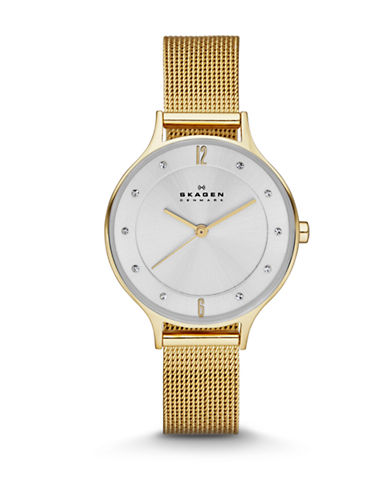 Skagen Womens Analog Anita Watch SKW2150-GOLD-One Size