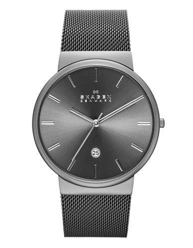Skagen Mens Ancher Standard SKW6108-STAINLESS STEEL-One Size