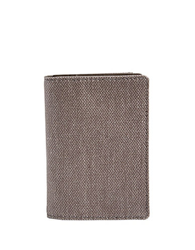 Skagen Kvarter Front Pocket Twill Wallet-GREY-One Size