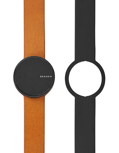 Skagen Set of Two Unisex Skagen Connected Allsund-Tracker-BROWN-One Size