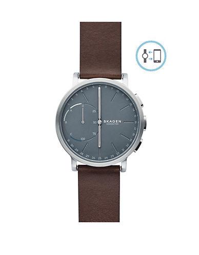 Skagen Unisex Hagen Connected Smart Watch-BROWN-One Size