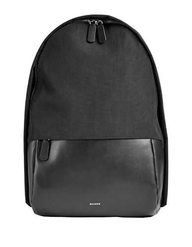 Skagen Kroyer Nylon Sling Bag-BLACK-One Size