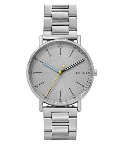 Skagen Signatur Analog Bracelet Watch-SILVER-One Size