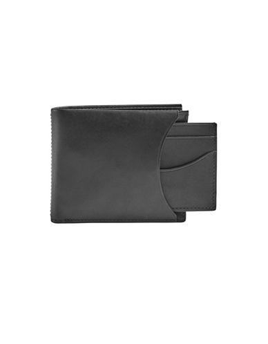 Skagen Leather Bifold Wallet-BLACK-One Size