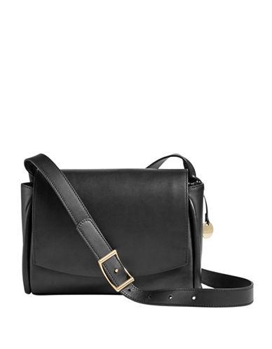 Skagen Sylvi Flap Crossbody Bag-BLACK-One Size