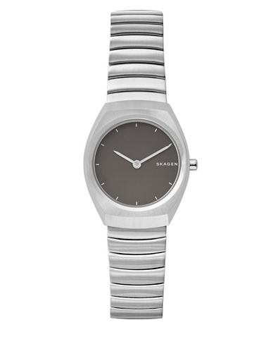 Skagen Women ANALOG Asta Steel-Link Watch-SILVER-One Size