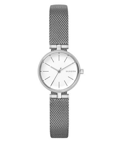 Skagen Analog Signatur Stainless Steel Bracelet Watch-SILVER-One Size