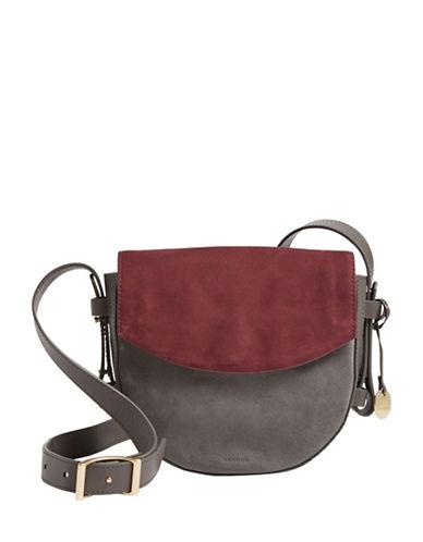 Skagen Lobelle Saddle Bag-GREY-One Size