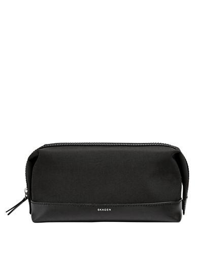 Skagen Shave Kit Bag-BLACK-One Size