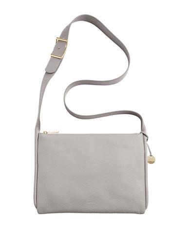 Skagen Anesa Zip Crossbody Bag-GREY-One Size