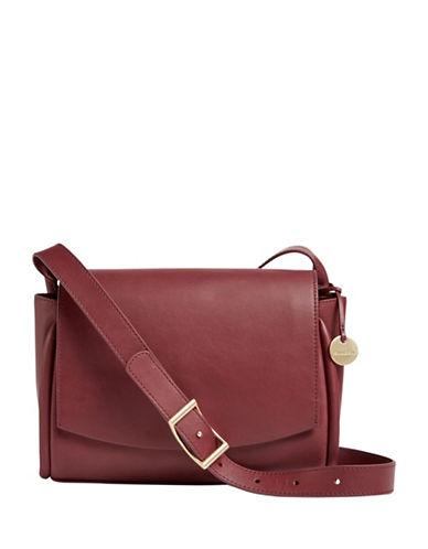 Skagen Sylvi Flap Crossbody Bag-RED-One Size