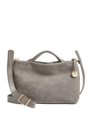 Skagen Mikkeline Mini Satchel-GREY-One Size